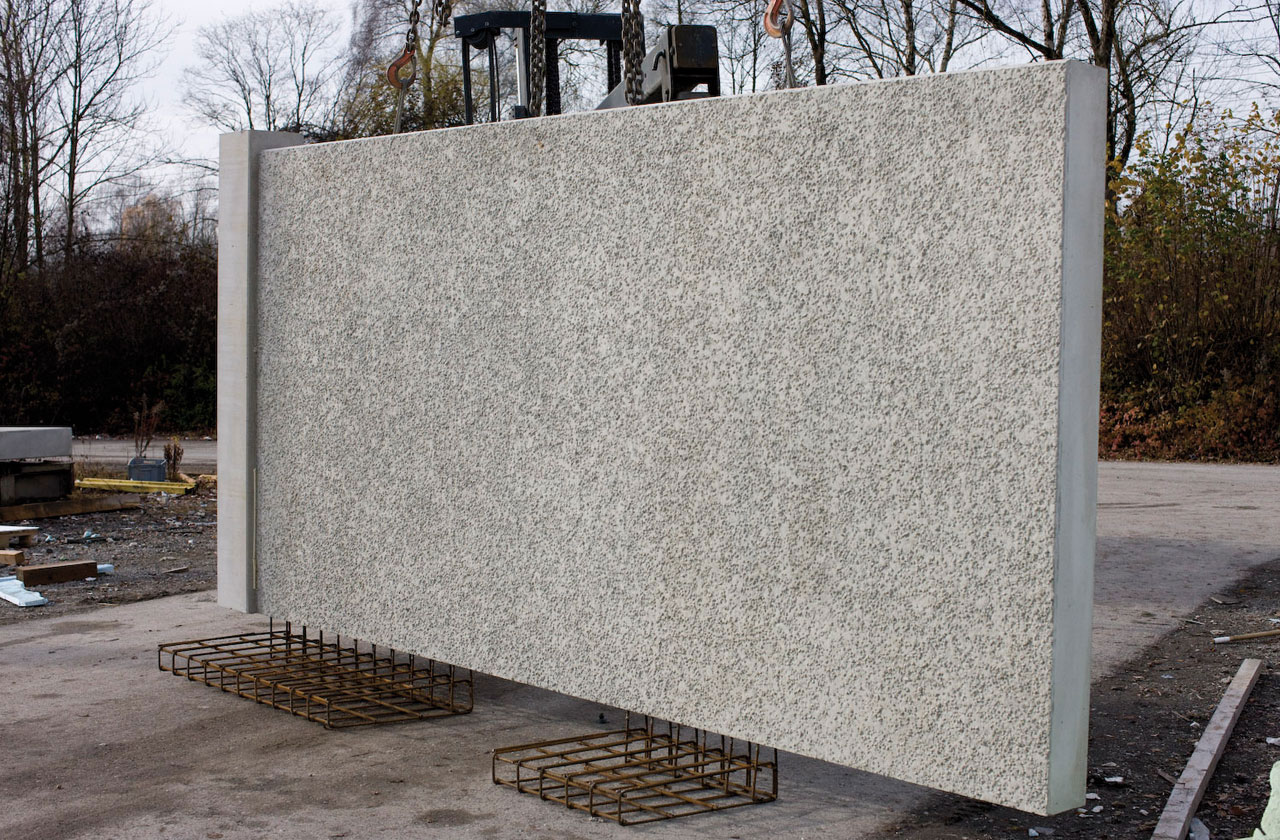 Klaus bau und immobilien in m nchen und augsburg betonfertigteile produziert im fertigteilwerk - Gartenmauer fertigteile ...